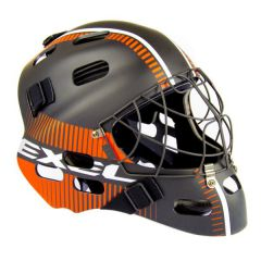 EXEL S80 HELMET senior/junior black/orange