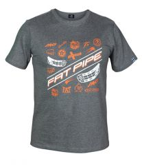 FatPipe T-Shirt Jab Grey