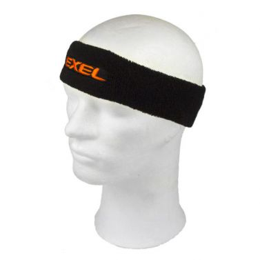 Exel Headband Black/Neon orange