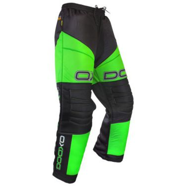 Oxdog Vapor Goalie Pants Black/Green Junior