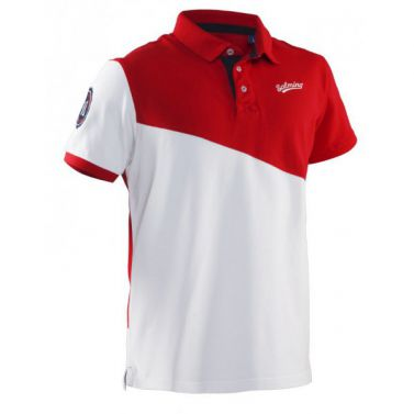 Salming Oak Polo Men Red/White