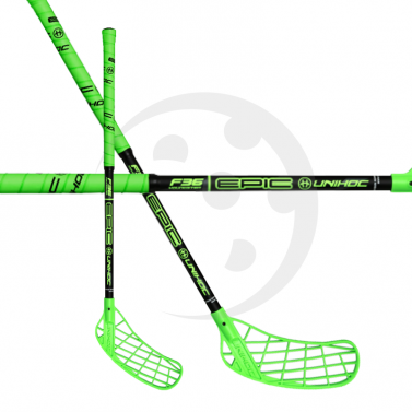 Unihoc Epic Youngster 36 Neon Green
