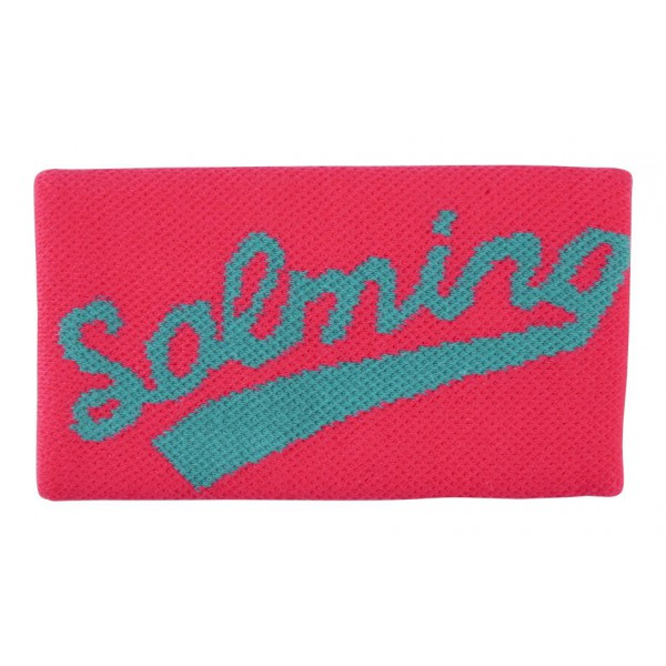 Salming Wristband Long Diva Pink/Turquoise potítko