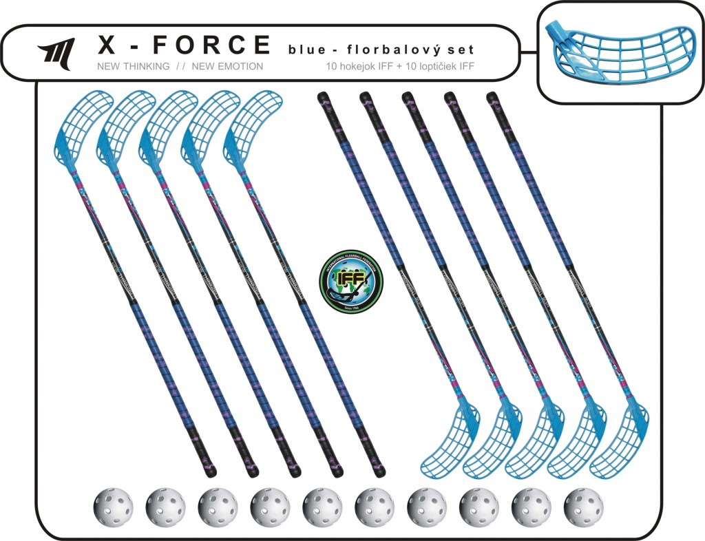 Set MPS X-Force (10 hokejok)
