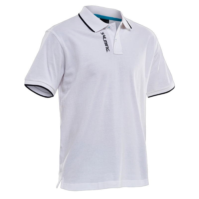 Salming Team Polo White 18/19