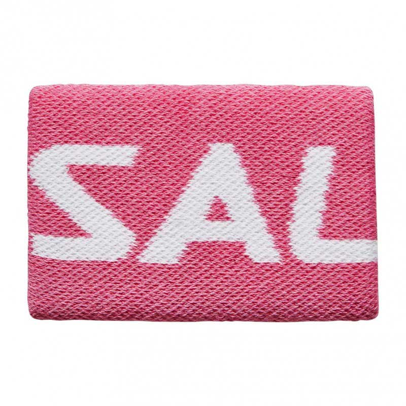 Salming Wristband Mid Pink/White 19/20
