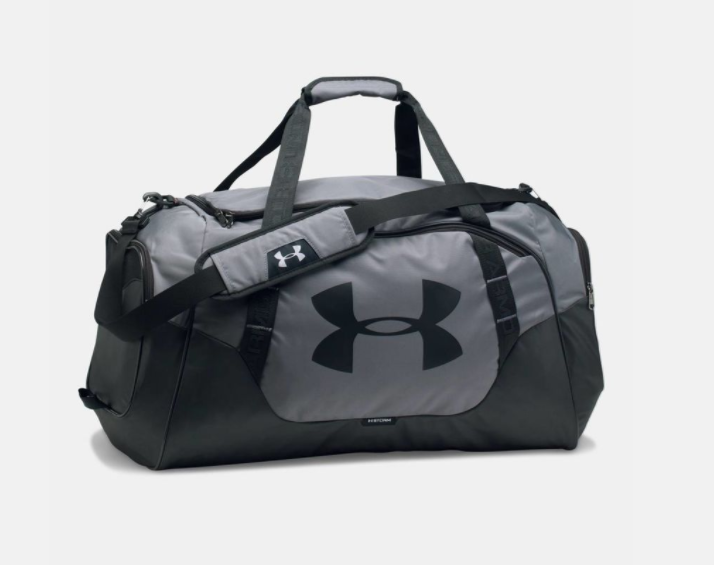 33dbb2f19d6fd Under Armour Undeniable Duffle 3.0 SM Grey/Black | Florbal4u.com