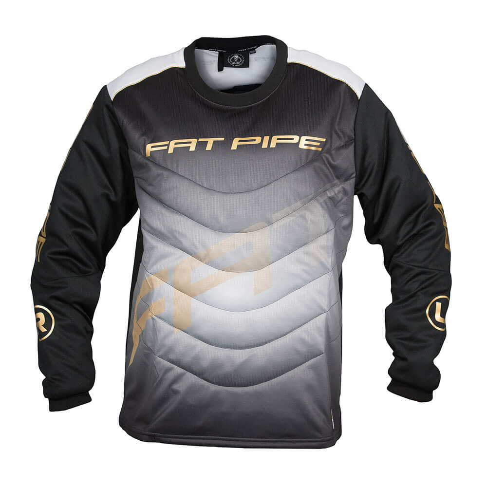 Fatpipe GK Junior Black/Gold brankársky dres