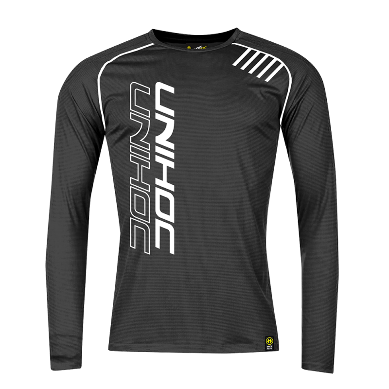 Tričko Unihoc Warm-Up Longsleeve Black