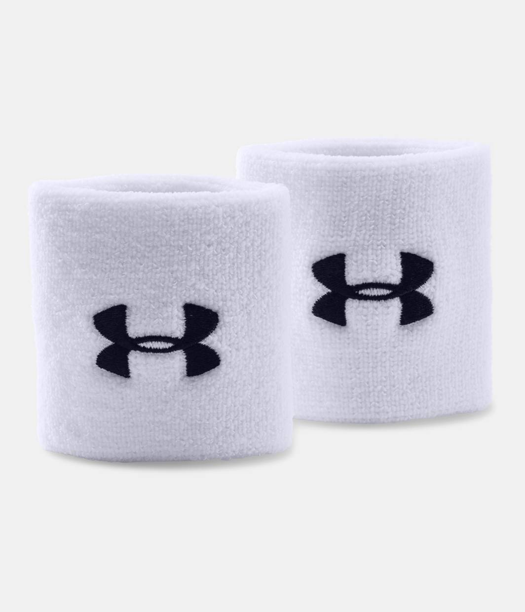 Under Armour Performance Wristbands White