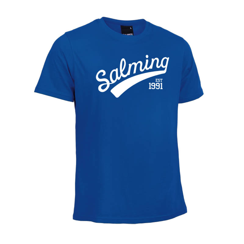 Salming Logo Tee Royal blue