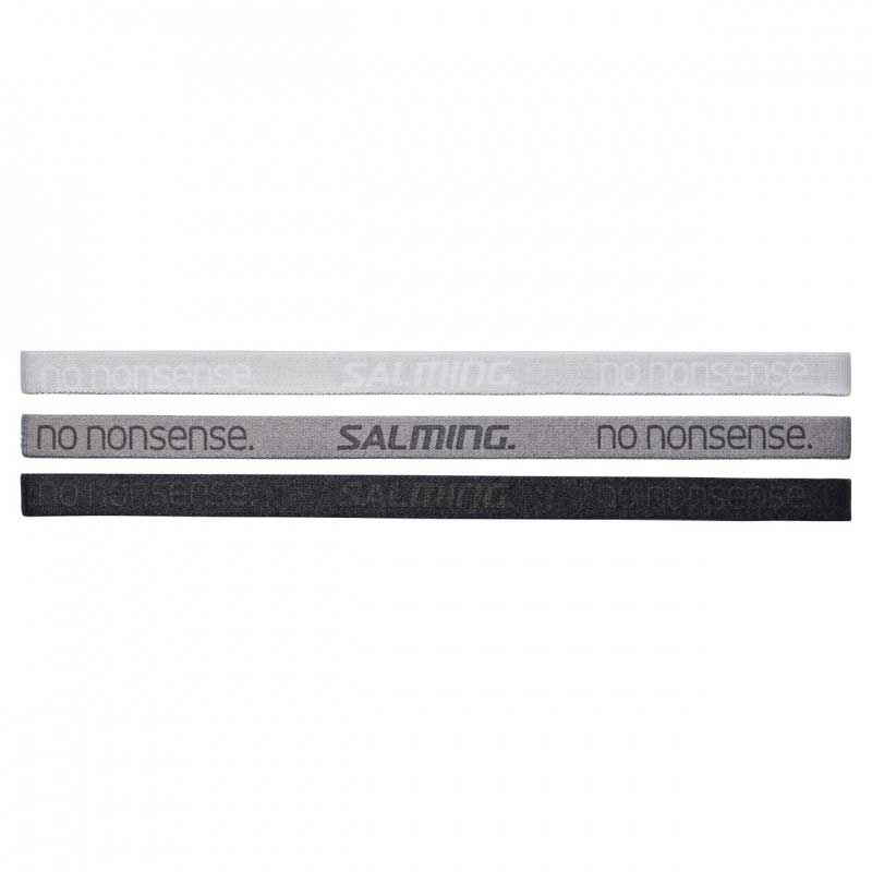 Salming Hairband 3-Pack Grey/Black 19/20