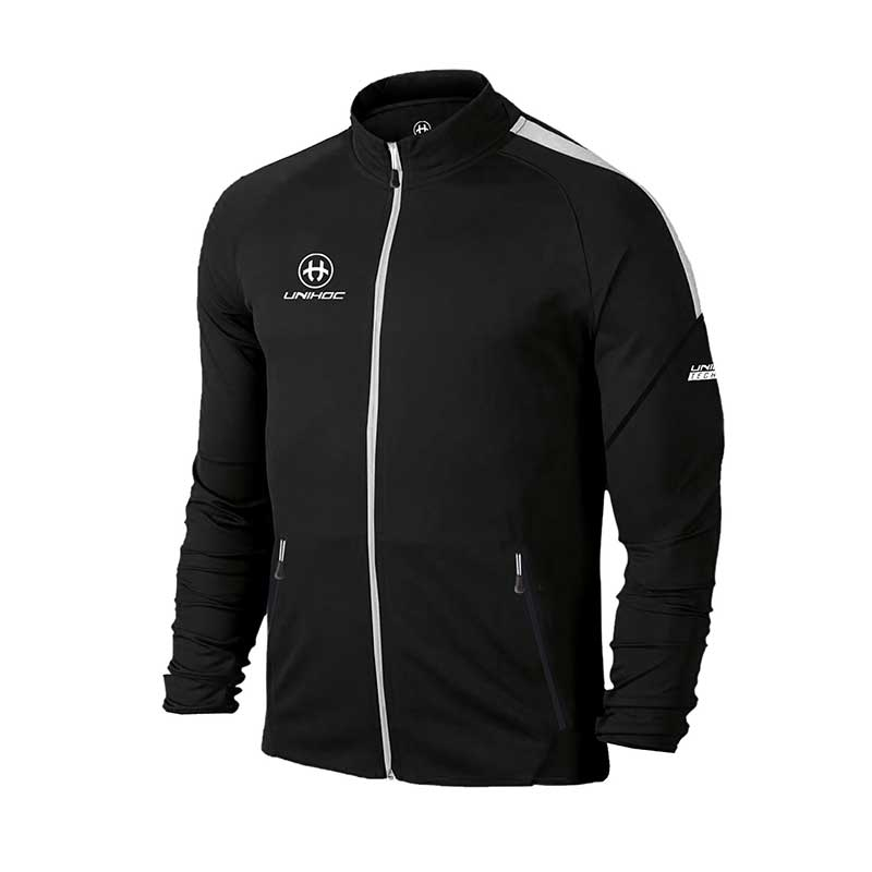 Unihoc Tracksuit Jacket Technic Black JR