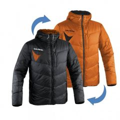 Salming Team Jkt Reversible Black/Orange