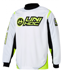 Unihoc Optima Senior brankársky dres White/Yellow