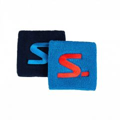 Salming Wristband Short 2-pack Blue/Navy 18/19