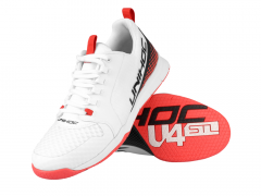 Unihoc U4 Plus LowCut Men White/Neon Red