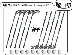 Set MPS Black Hawk Black (10 hokejok)