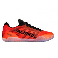 Salming Hawk Men Black/Lava Red