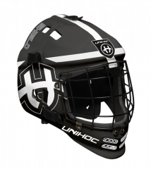 Unihoc Shield Black/White brankárska maska