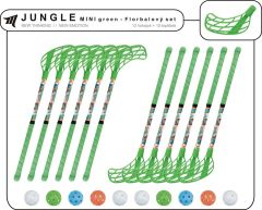 Set MPS Jungle Mini Green (10 hokejok)