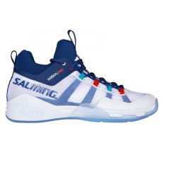 Salming Kobra Mid 2 White/Limoges Blue