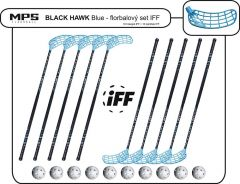 Set MPS Black Hawk Blue (10 hokejok)