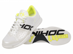 Unihoc U4 STL LowCut Lady white/yellow