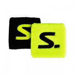 Salming Wristband Short 2-pack Yellow/Black 18/19