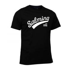 Salming Logo Tee Black