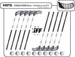 Set MPS Evolution White/Black (10 hokejok)