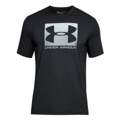 Under Armour Boxed Sportstyle SS Black tričko