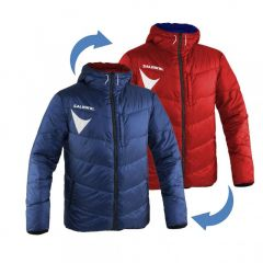 Salming Team Jkt Reversible Royal/Red