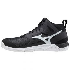 Mizuno Wave Supersonic 2 Mid Black