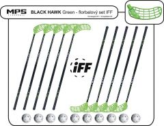Set MPS Black Hawk Green (10 hokejok)