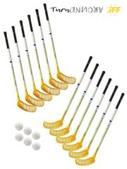 Eurostick TurnAround Junior IFF Set (12 hokejok)