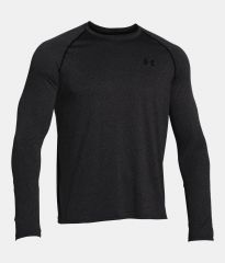 Under Armour Tech LS Grey Tee