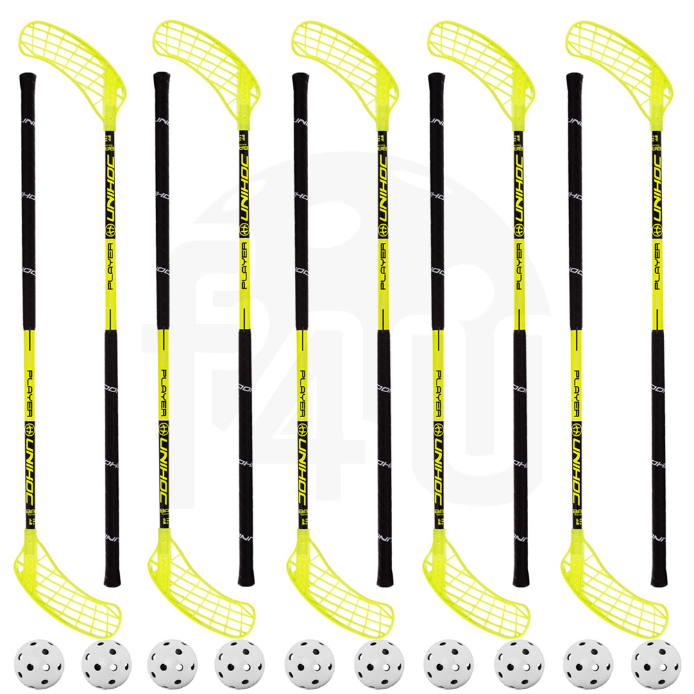 Set Unihoc Player 31 (10 hokejok)