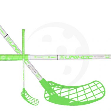 Unihoc Epic Youngster 36 Neon Green/White 18/19