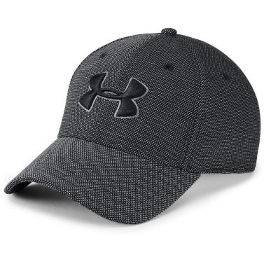 Under Armour Heathered Blitzing 3.0 Cap Black