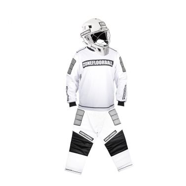 Zone Monster White/Black Helmet SR brankársky set
