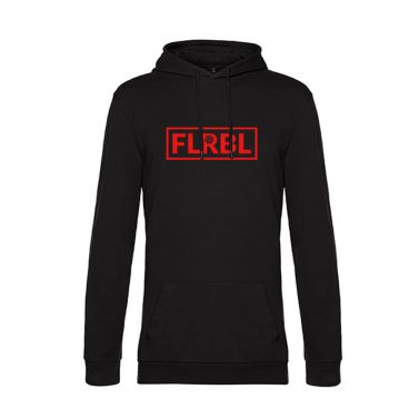 FLRBL Black/Red mikina