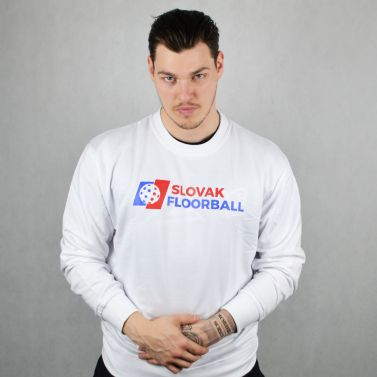 Slovak Floorball White Sweater