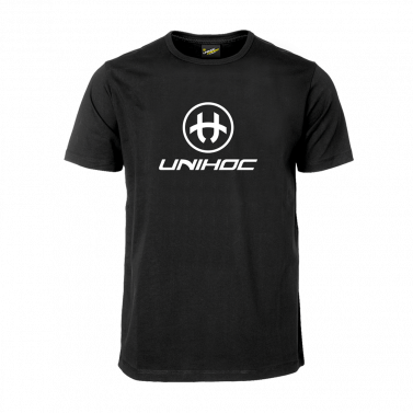 Unihoc T-shirt Storm Black JR