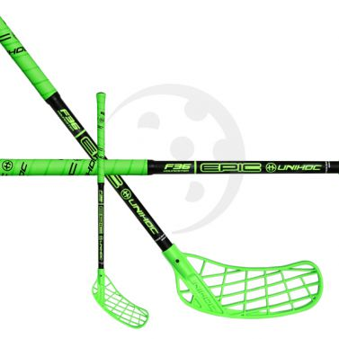 Unihoc Epic Youngster 36 Neon Green 17/18