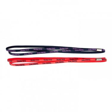 Salming Twin Hairband 2-pack Coral/Navy 18/19