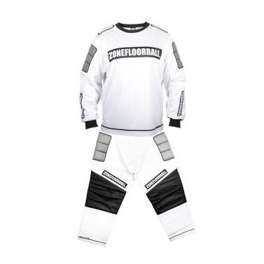 Zone Monster White/Black SR brankársky set