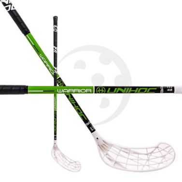 Unihoc Warrior Green Junior 16/17