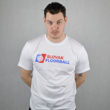 Slovak Floorball White T-shirt