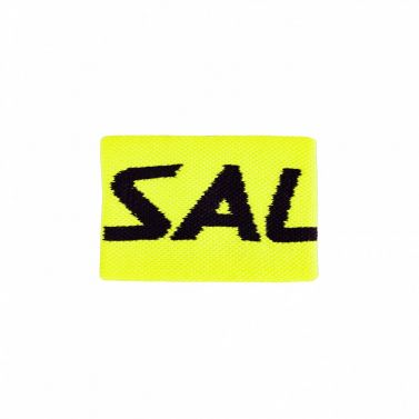 Salming Wristband Mid Yellow/Black 18/19